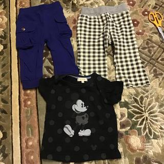 エフオーキッズ(F.O.KIDS)のホットビスケッツ F.O.KIDS パンツ ハッシュアッシュ Tシャツ 80(Tシャツ)