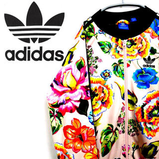 アディダス(adidas)の美品☆adidas アディダスオリジナルス×ファームカンパニー 花柄ジャージ (その他)
