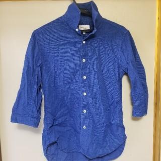 アダムエロぺ(Adam et Rope')の【七分袖】アダムエロペのリネンシャツ(シャツ)