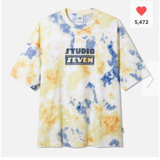 ジーユー(GU)のGU オーバーサイズT5分袖STUDIO SEVEN 2+X 2XL(Tシャツ/カットソー(半袖/袖なし))