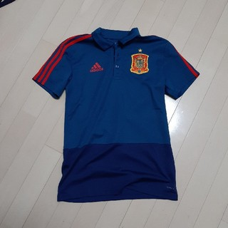 ADIDAS スペイン代表 ポロシャツ Sサイズ アディダス