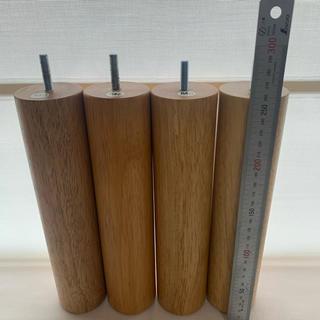 ムジルシリョウヒン(MUJI (無印良品))の無印良品 脚26cm(新式)M8脚付きマットレスベット(脚付きマットレスベッド)
