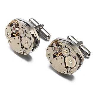 【残りあと少し★カフスボタン】腕時計 カフリンクス カフス タイピン ネクタイ(カフリンクス)