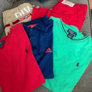Ralph Lauren - Tシャツ3枚 半ズボン2枚