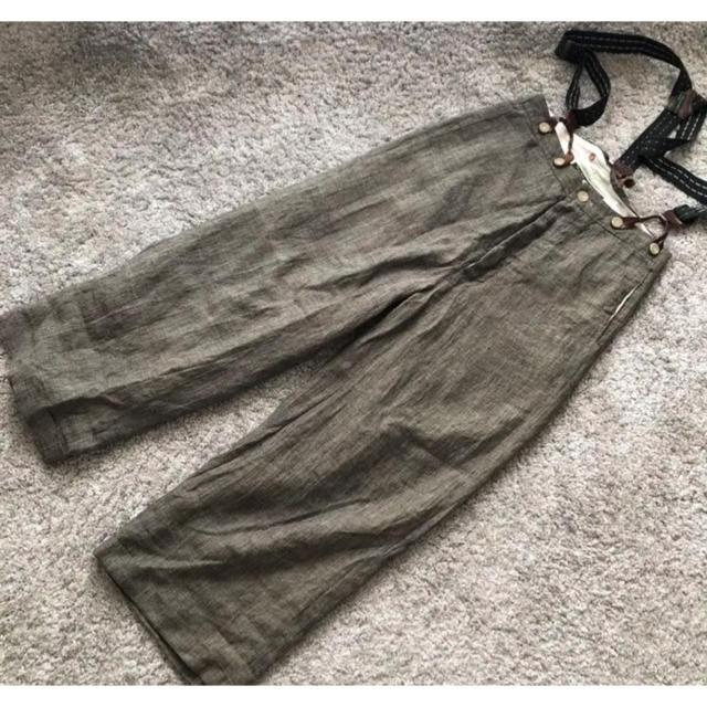 Paul Harnden(ポールハーデン)のPaul Harnden リネン × コットン トラウザーズ   専用です メンズのパンツ(スラックス)の商品写真