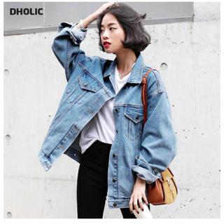 ディーホリック(dholic)のDHOLIC ビックシルエットデニムジャケット(Gジャン/デニムジャケット)
