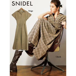 snidel - ウエストタックシャツワンピース SNIDEL スナイデル