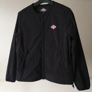 ダントン(DANTON)のダントン DANTON  BEAMS 34 黒 ジャケット 中綿 ノーカラー (ノーカラージャケット)