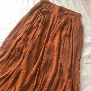 スカートパンツ(バギーパンツ)