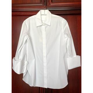 ドゥーズィエムクラス(DEUXIEME CLASSE)のAP STUDIO 新品タグ付き 白シャツ ブラウス(シャツ/ブラウス(長袖/七分))