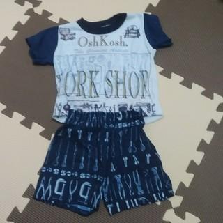 オシュコシュ(OshKosh)の90年代製·子供服‼️オシュコシュ·ワークショップ 上下セットアップ (Tシャツ/カットソー)