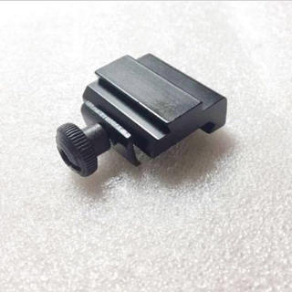 メタル製 マウント 幅 変換 20→11mm 高さアップ13mm ベースマウント(カスタムパーツ)
