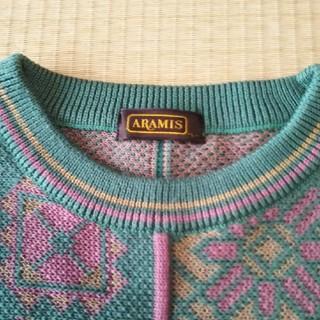 アラミス(Aramis)のARAMIS 男性用綿セーターLサイズ(ニット/セーター)