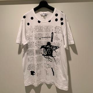 COMME des GARCONS - comme des garcons shirt  バスキア  Tシャツ サイズM