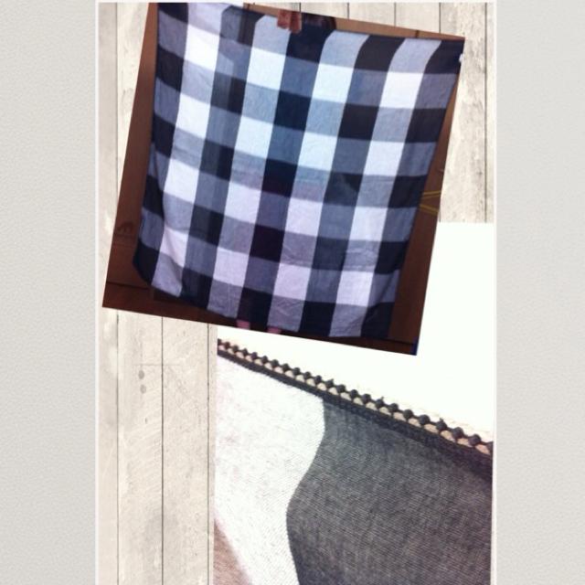 MUJI (無印良品)(ムジルシリョウヒン)の無印良品*大判ストール レディースのファッション小物(ストール/パシュミナ)の商品写真