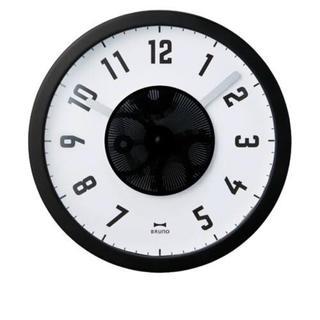 イデアインターナショナル(I.D.E.A international)のはー様専用★ブルーノ スリットアニメーションクロック(置時計)