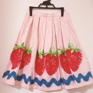 Emily Temple cute - 美品❤︎エミリーテンプルキュート ストロベリーホイップ スカート