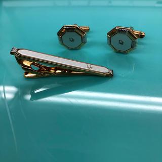 クリスチャンディオール(Christian Dior)のクリスチャンディオール Dior カフス ネクタイピン セット ブランド 紳士(カフリンクス)