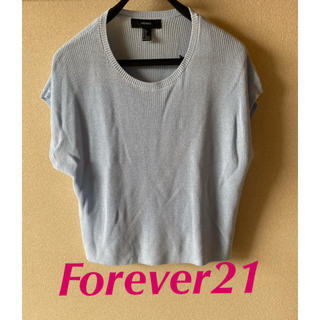 フォーエバートゥエンティーワン(FOREVER 21)のフォーエバー21  Forever21  サマーニット カットソー(カットソー(半袖/袖なし))