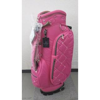 マンシングウェア(Munsingwear)の未使用品 マンシングウェア レディース用 キャスター付きキャディバッグ ピンク(バッグ)