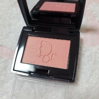ディオール(Dior)のミニサイズ Diorディオールブラッッシュ756 ローズシェリー3.2g(チーク)
