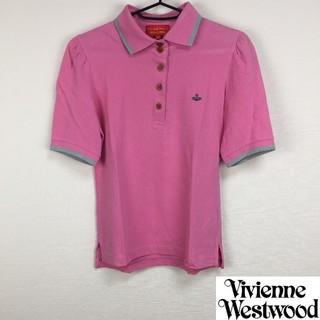 Vivienne Westwood - 美品 ヴィヴィアンウエストウッドレッドレーベル 半袖ポロシャツ ピンク