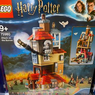 Lego - レゴ (LEGO) ハリー・ポッター 隠れ穴の襲撃 75980 ブロック