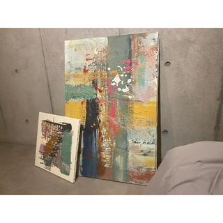 抽象アート キャンバスアート(ボードキャンバス)