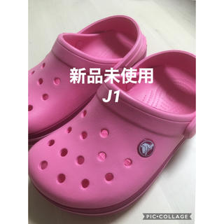 crocs - クロックス  クロックバンド キッズ ジュニア J1 19.5 19 20