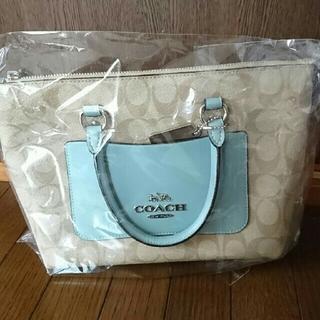 COACH - コーチ、ハンドバッグ、シグネチャーカラーブロック!