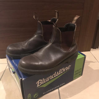 ブランドストーン(Blundstone)のBlundstone 500 stout brown サイドゴアブーツ(箱付き)(ブーツ)