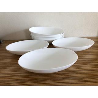 ヤマザキセイパン(山崎製パン)のまさかの9枚セット 白皿 シンプルお皿 (食器)