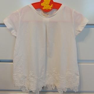 ザラ(ZARA)のさわやか白トップス3枚セット(Tシャツ/カットソー)