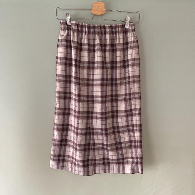 MERCURYDUO(マーキュリーデュオ)の新品★マーキュリーデュオ★2020年福袋★チェックのスカート レディースのスカート(ひざ丈スカート)の商品写真