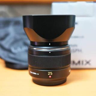 パナソニック(Panasonic)のLeica LEICA DG SUMMILUX 25mm F1.4(レンズ(単焦点))