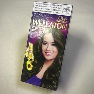 ウエラ(WELLA)のWELLATON 2+1  ヘアカラー  7GM(白髪染め)