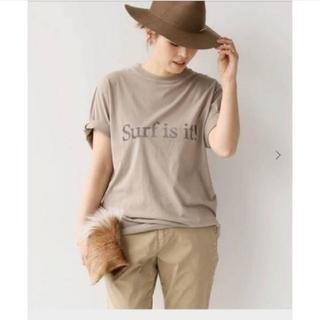 DEUXIEME CLASSE - 美品☆Deuxieme Class☆Surf is it Tシャツ