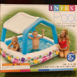 INTEX (インテックス)サンシェードプール&電動ポンプ(マリン/スイミング)