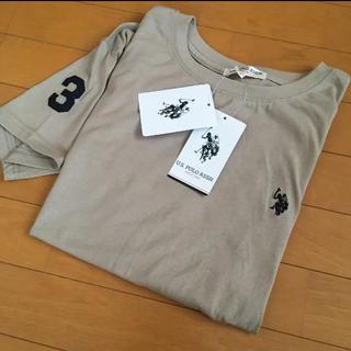 POLO RALPH LAUREN - 正規品 ラルフローレン好き us polo assn Tシャツ L ベージュ 新