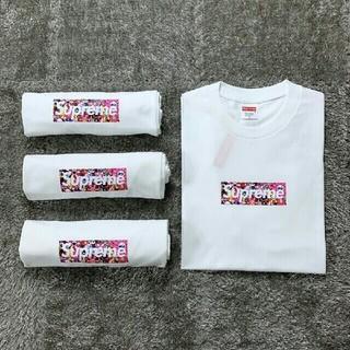 大人気Supreme Tシャツ 半袖 春夏 2枚セット