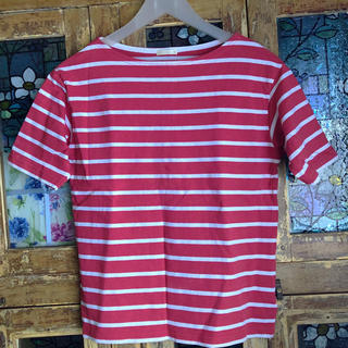 ジーユー(GU)のGU 半袖 ボーダー トップス(Tシャツ(半袖/袖なし))