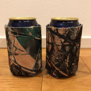 スノーピーク(Snow Peak)の2個セット 缶クージー リアルツリーカモ (食器)