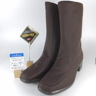 アサヒシューズ(アサヒシューズ)の25㎝  ブラウン トップドライゴアテックス オールシーズンブーツ(レインブーツ/長靴)
