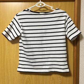 ジーユー(GU)のGU ボーダーティ(Tシャツ(半袖/袖なし))
