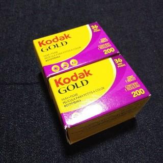 Kodak ネガフィルム GOLD 36枚撮り 2本セット(フィルムカメラ)
