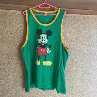 Disney - 4L ミッキータンクトップ
