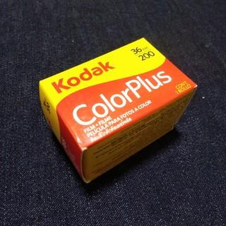Kodak ネガフィルム ColorPlus 36枚撮り(フィルムカメラ)