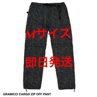 STUSSY - stussy × gramicci cargo zip off pant