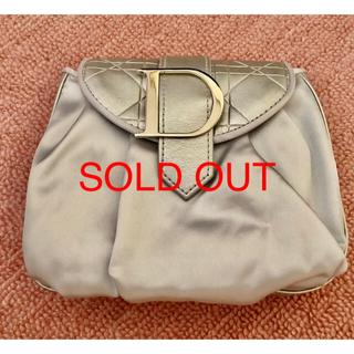 ディオール(Dior)のDior シルバーのポーチ ♡新品未使用♡(ポーチ)
