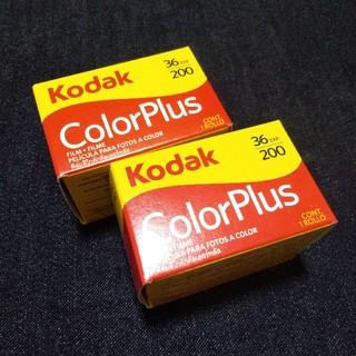 Kodak ネガフィルム ColorPlus 36枚撮り 2本セット(フィルムカメラ)